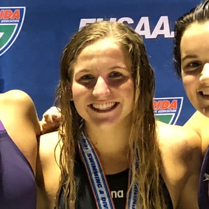 Coco Hull Tampa Prep alumna and swimmer for University of Miami