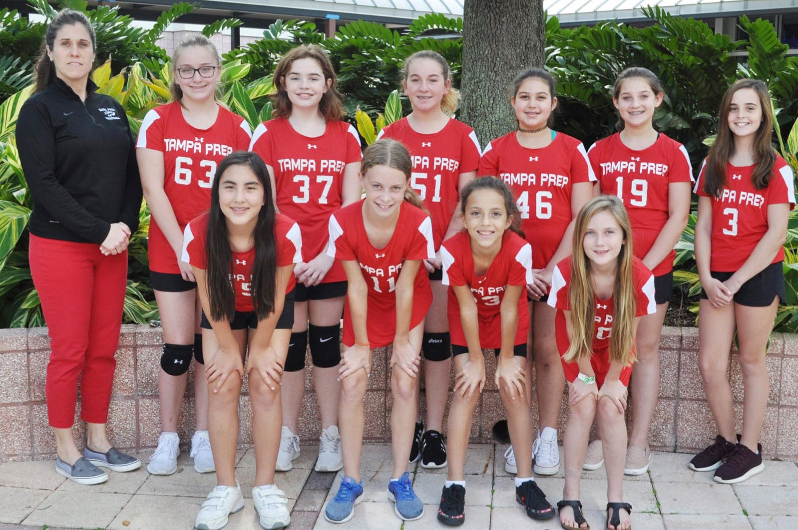 6th grade volleyball team picture