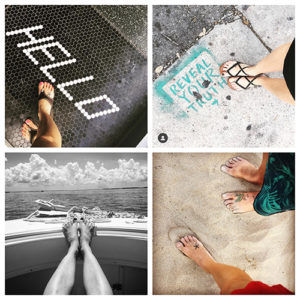 Heather Lambie foot afar instagram