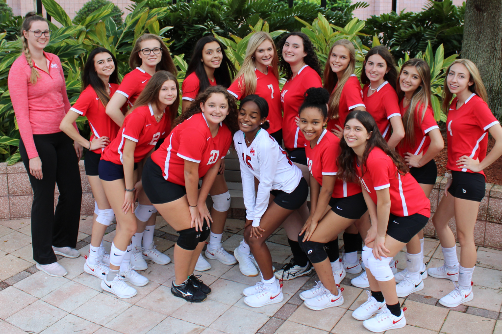 JV Girls' Volleyball