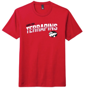 SS tee red screen black white