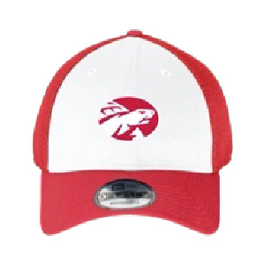 baseball cap red and white